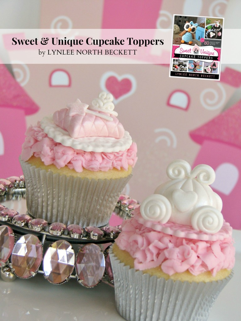 Once Upon a Time fondant cupcake tutorial ~ Lynlee's
