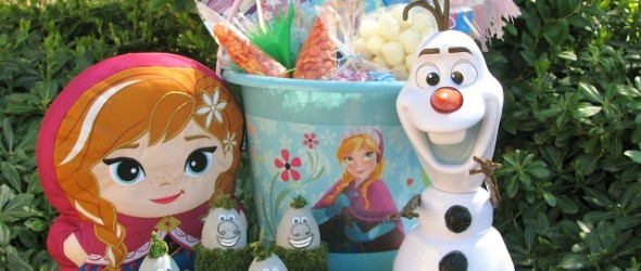 Do You Want to Build a Frozen Easter Basket?
