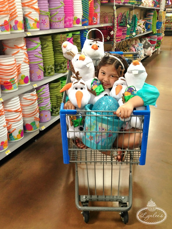 Frozen Easter at Walmart