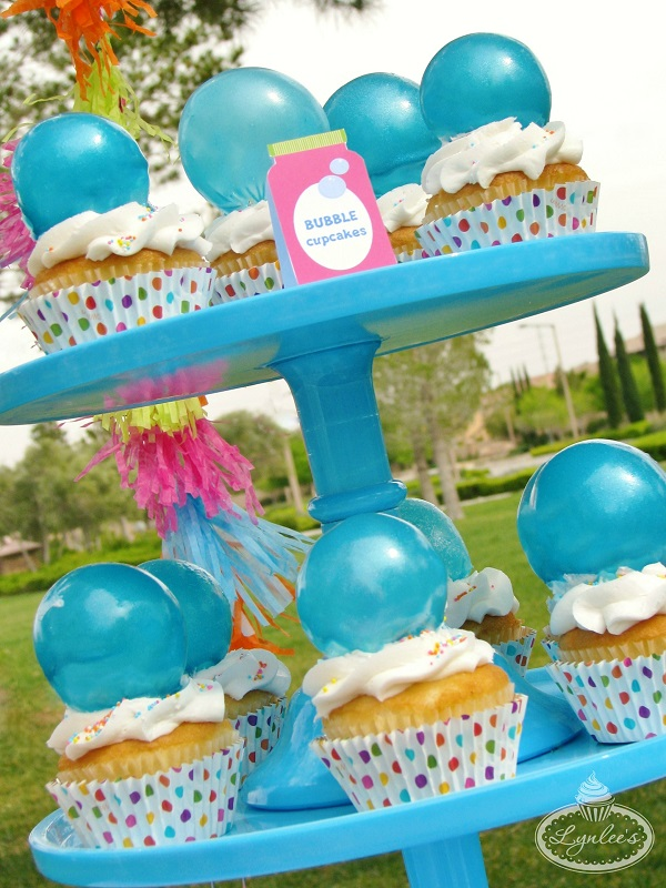 Break Out the Bubbly Bubble Cupcakes ~ Lynlee's