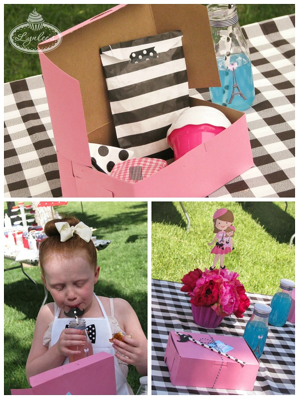 An American Girl in Paris lunch boxes ~ Lynlee's
