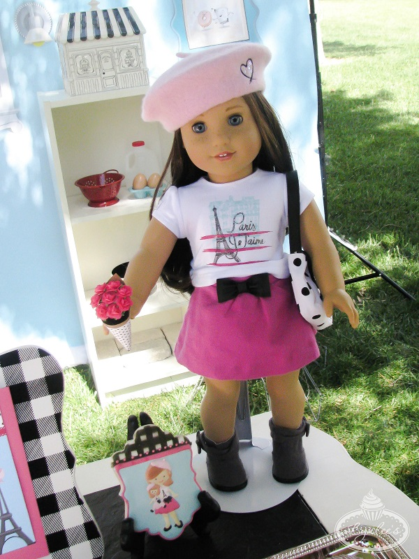 An American Girl in Paris party ~ Girl of the  Year Grace