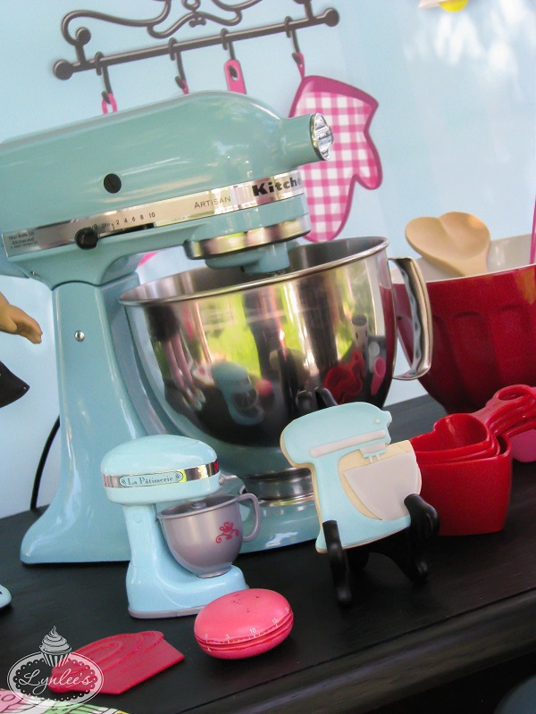 An American Girl in Paris KitchenAid mixer ~ Lynlee's