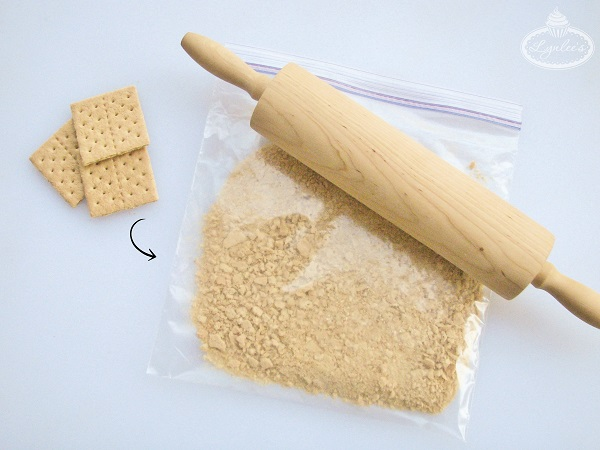 S'mores Pops tutorial 2nd step