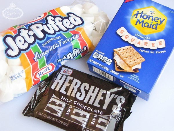 S'mores Pops tutorial shopping ingredients