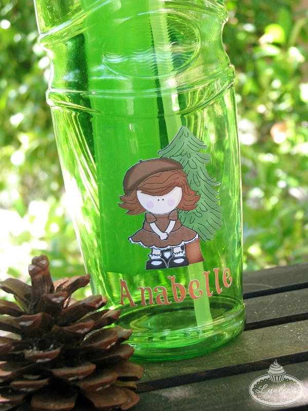 Summer Camp water bottle