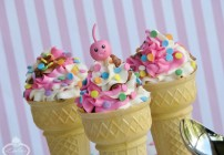 Scoop Up Some Melt-Free Fun with Ice Cream Cupcakes!