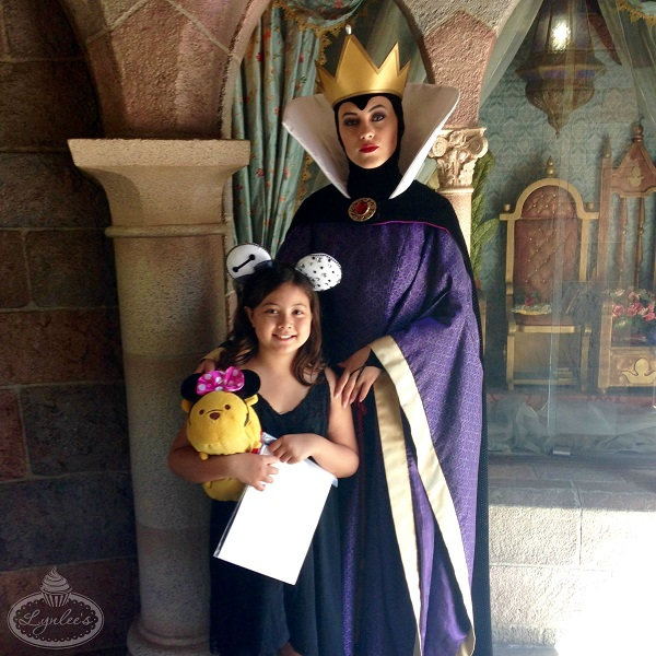 Evil Queen at Disneyland ~ Lynlee's