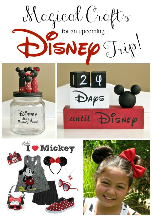 Magical Disney Crafts for an Upcoming Trip ~ Lynlee's