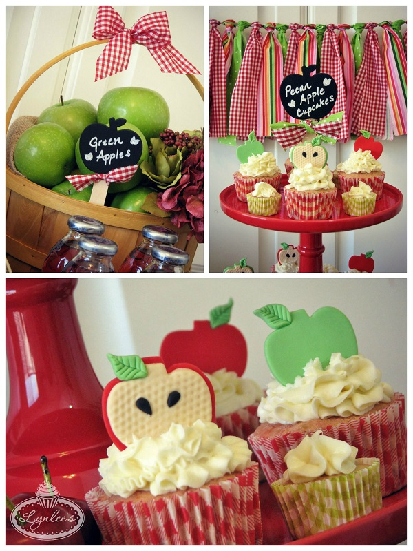 Sweet to the Core apple toppers