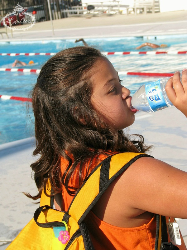 Everyday We're Guzzlin Nestle Pure Life Water Swimmer ~ Lynlee's