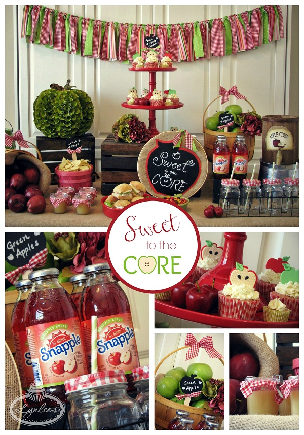 Sweet to the Core party collage