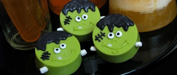 It's Alive! Spooky Snacks with Frankenstein OREOs and Fanta Floats