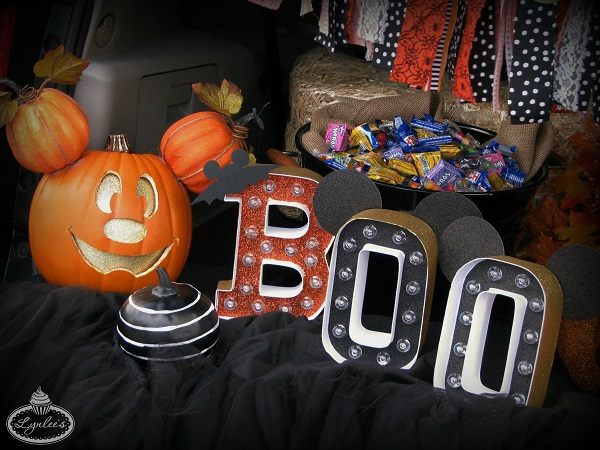 Halloween Mickey Marquee Letters ~ Lynlee's