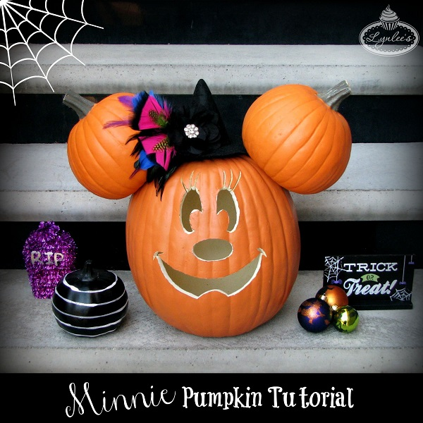 Minnie Pumpkin Tutorial ~ Lynlee's
