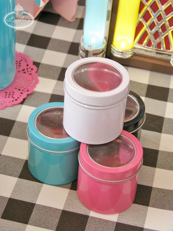 Condiment Canisters ~ Lynlee's