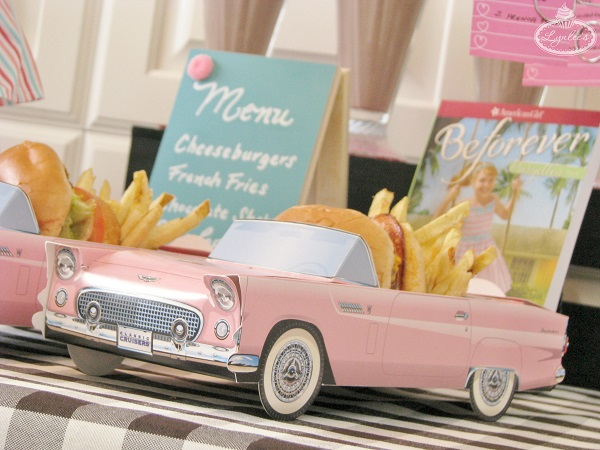 50's Chevy food boxes ~ Lynlee's