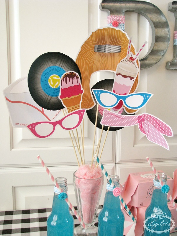 50s Photo Props ~ Lynlee's