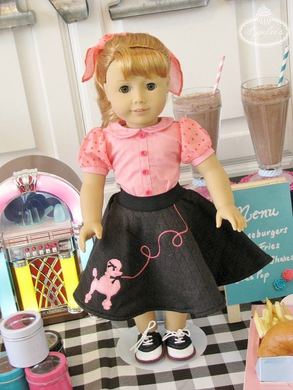 Maryellen Poodle Skirt Outfit ~ Lynlee's