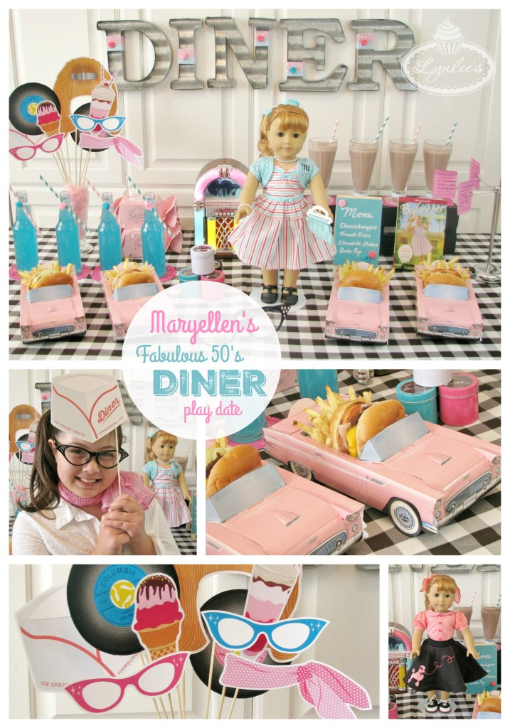 Fabulous 50's Maryellen Diner Play Date with American Girl ~ Lynlee's