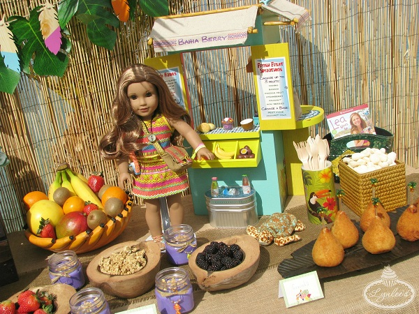 Lea's American Girl fruit stand ~ Lynlee's