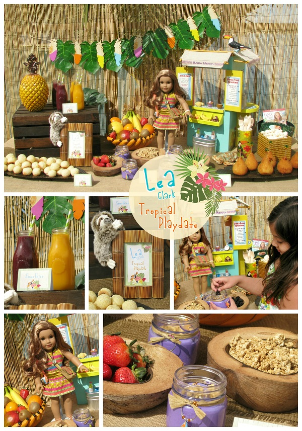 Lea Clark Tropical Playdate ~ Lynlee's