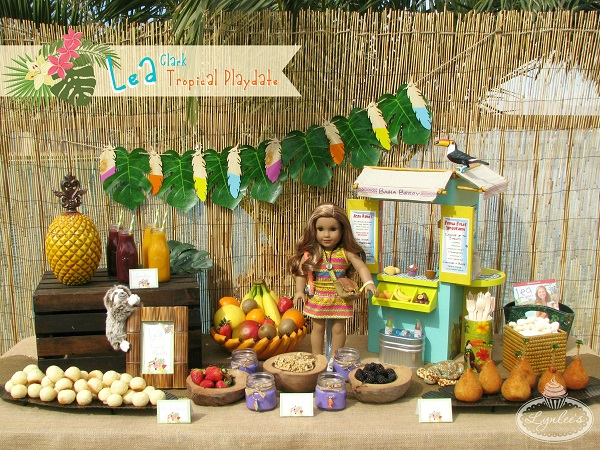 Lea's Tropical Playdate ~ Lynlee's