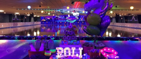 How We Roll 80's Rollerskating Party Ideas