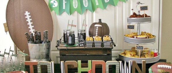 High Scorin' Tailgate Football Party Ideas