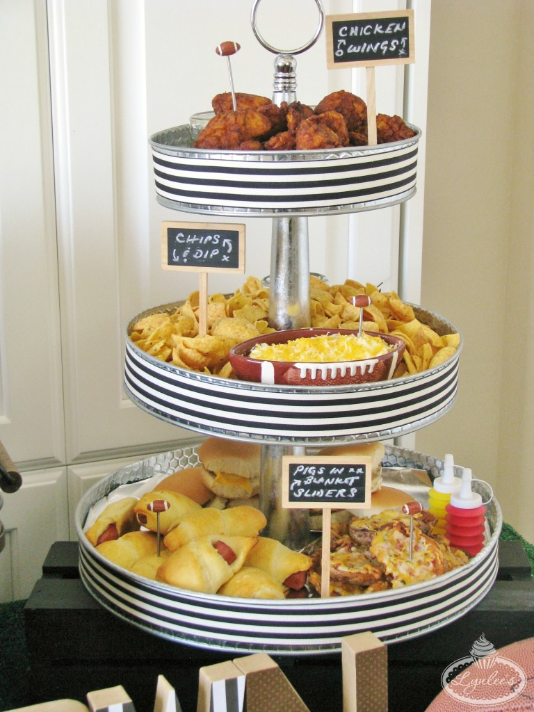 Tailgate Football Food Tower