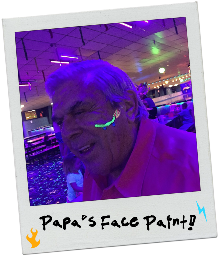 neon-80s-rollerskating-party-face-paint