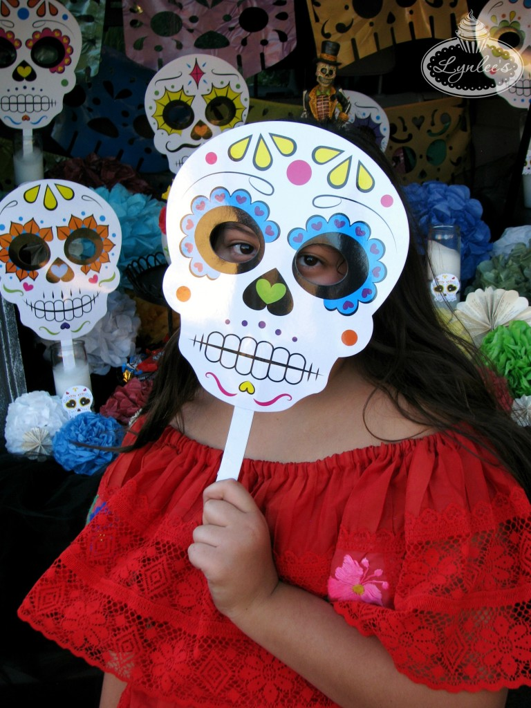 Day of the Dead Photo booth Mask