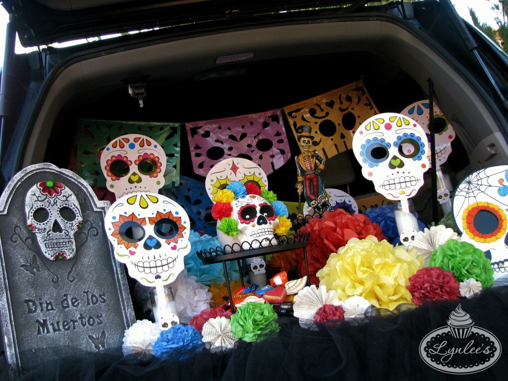 Day of the Dead set-up