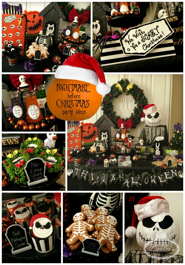 nightmare before christmas party ideas lynlees. Black Bedroom Furniture Sets. Home Design Ideas