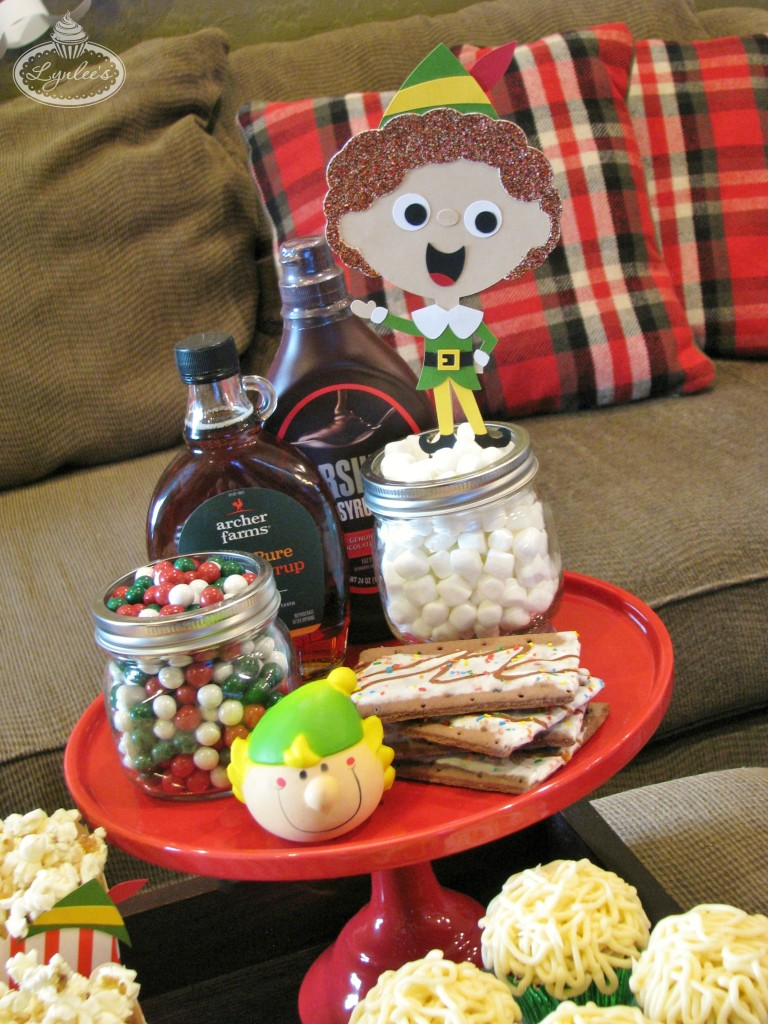 Santa S Coming Elf Party For A Family Movie Night Lynlees