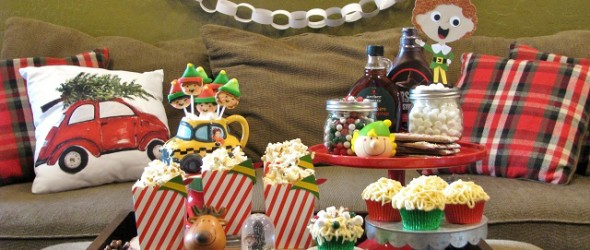 Santa's Coming!!! Elf Party for a Family Movie Night