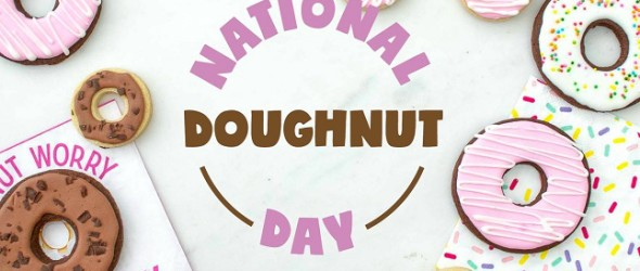 Doughnut Day Party Blog Hop ~ Day 1
