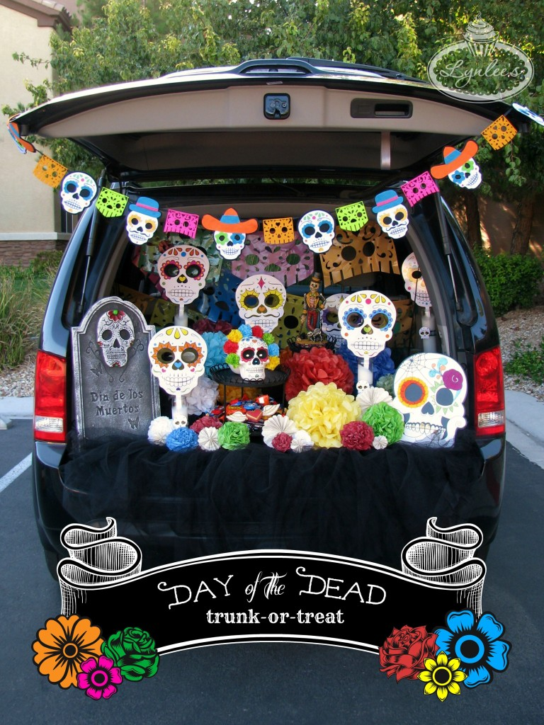 2019 Trunk Or Treat Ideas Day of the Dead Trunk or Treat Ideas — Lynlees